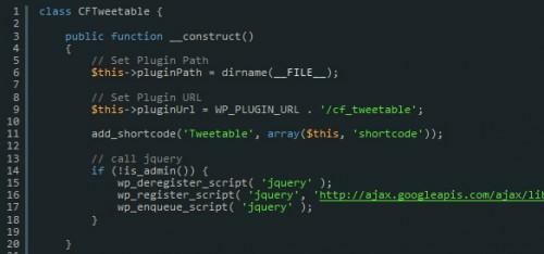 Building a WordPress plugin: Tweetable