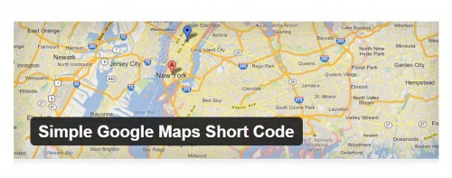 Simple Google Maps Short Code