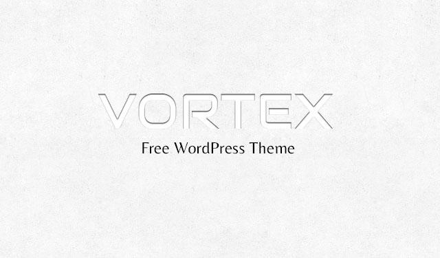 Vortex Free WordPress Theme
