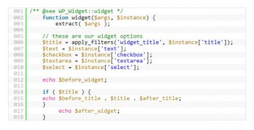 How to Coded Advanced WordPress Widgets