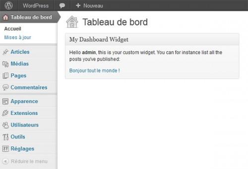 How to Build Custom Dashboard Widgets