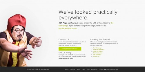 Build an Effective 404-error Pages in WP