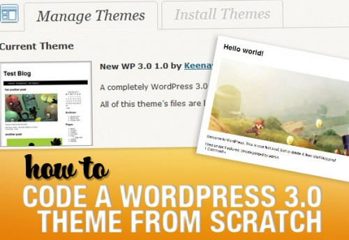 Coding a WordPress Theme from Scratch