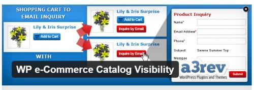 WP e-Commerce Catalog Visibility