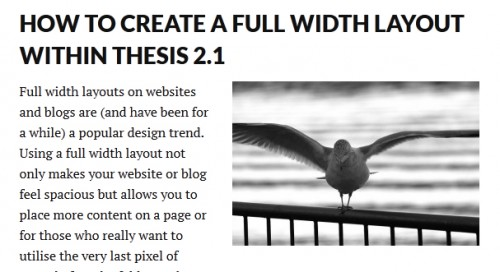 quick adsense thesis I would suggest go for thesis theme simple and your adsense will get maximum exposure.