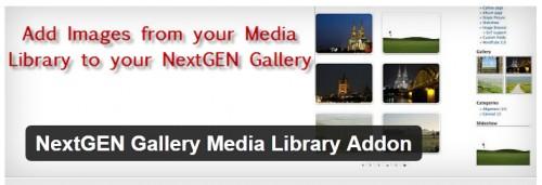 NextGEN Gallery Media Library Addon