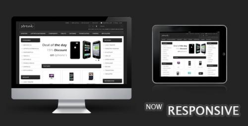 Streak Responsive OpenCart Theme