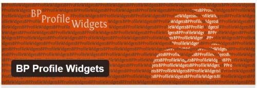 BP Profile Widgets