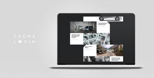 Slurp: Minimalistic and Creative Grid Portfolio