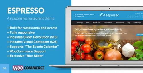 Espresso - WordPress Theme for Restaurants