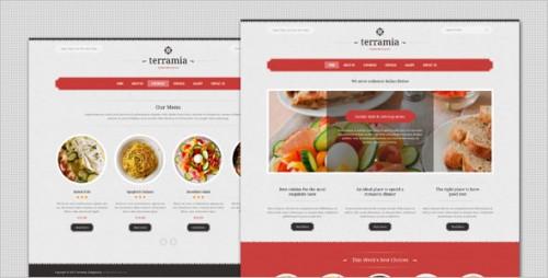 Terramia - Classic Restaurant WordPress Theme