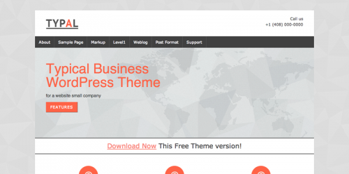 TYPAL Business WP Theme