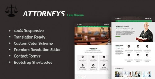 Attorney - Corporate WordPress Theme