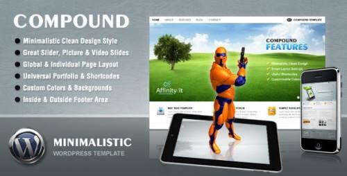 Compound - Minimalist Business & Portfolio Theme