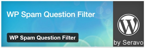 WP Spam Question Filter
