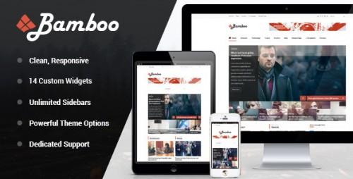 Bamboo - Responsive WordPress Magazine Theme
