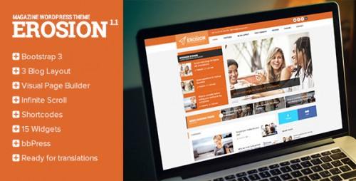 Erosion - Responsive Blog WordPress Theme