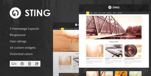 Sting - Responsive WordPress Magazine Theme
