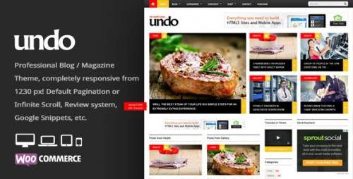 Undo - Premium WordPress News, Magazine Theme
