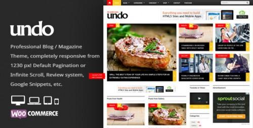 Undo - Premium WordPress News, Magazine Theme