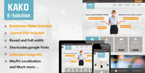 Kako Multi-Purpose WordPress Theme