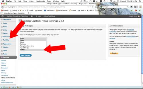 eShop Custom Types
