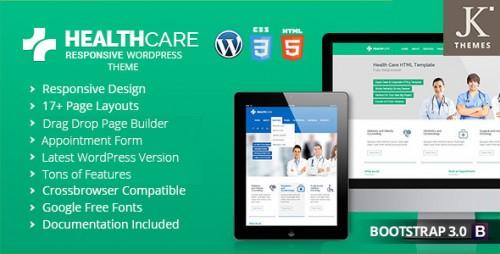 Health Care - Responsive Health WordPress Theme