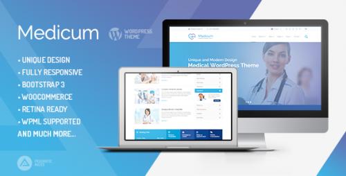 Medicum - Health & Medical WordPress Theme