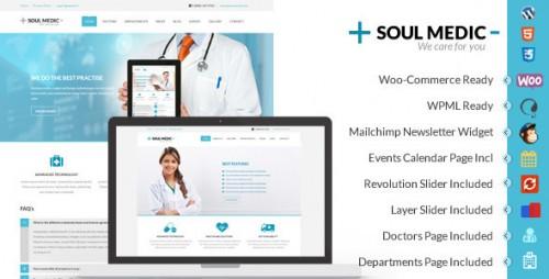 SoulMedic - Flat Responsive Medical & Health Theme