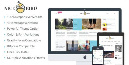NiceBird - Blog and Newspaper WordPress Theme