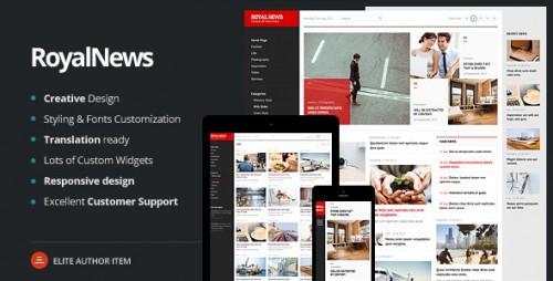 RoyalNews - Premium Responsive WordPress Theme