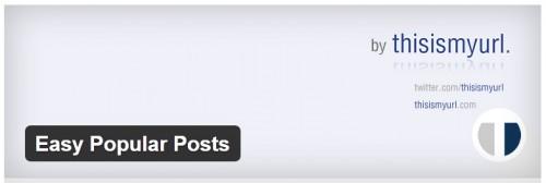 Easy Popular Posts