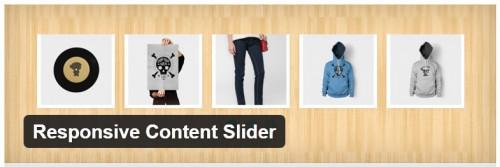 Responsive Content Slider