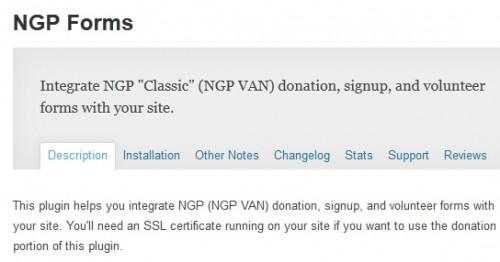 NGP Forms