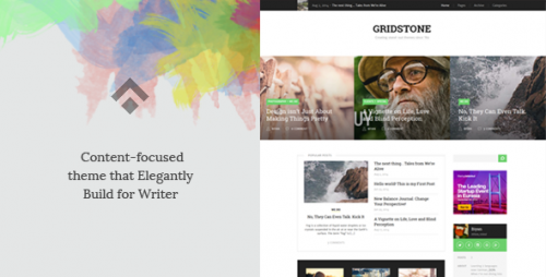 Gridstone: Elegantly Built for Blogger