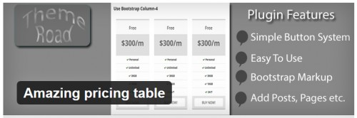 Amazing Pricing Table