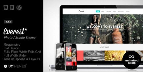 Everest - Responsive Portfolio WordPress Theme