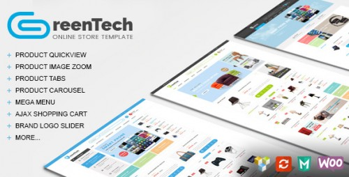 GreenTech - Shopping Responsive WooCommerce Theme