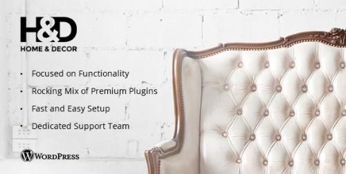 H&D - Interior Design WordPress Theme