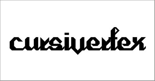 Cursivertex