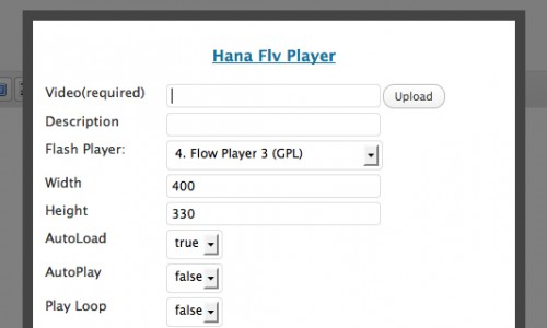 Hana FLV Extension