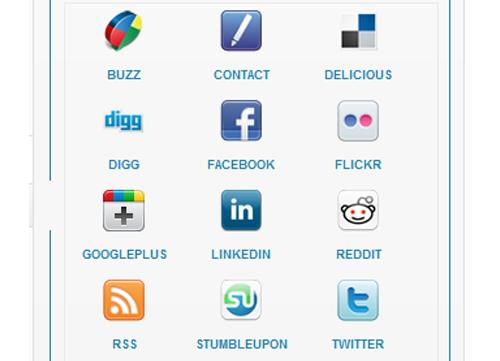 Social Media Icons Widget