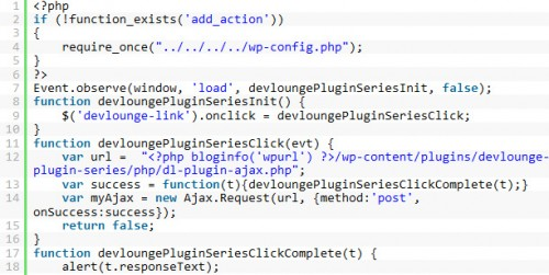 Using AJAX with your WordPress Plugin