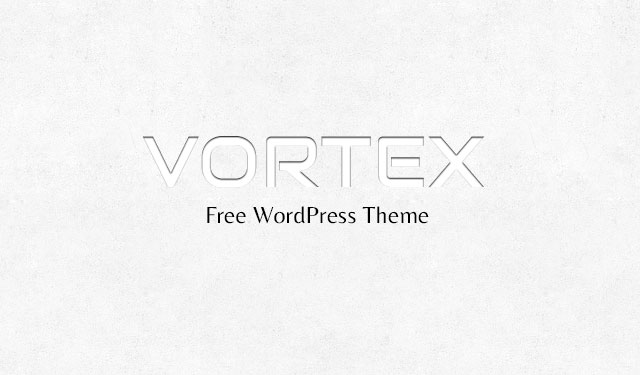 Vortex Free WordPress Theme