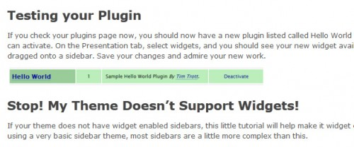 How To Create WordPress Widgets
