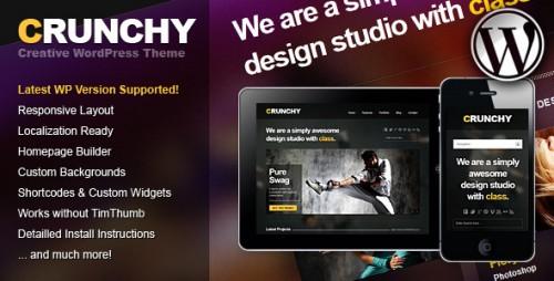 Crunchy Responsive Creative WP Theme