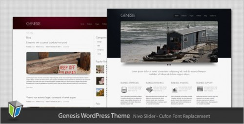 Genesis - Business and Portfolio WP Theme