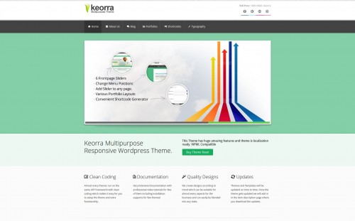 Keorra Responsive WordPress Theme