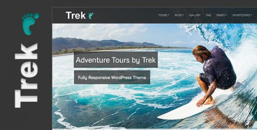 Trek - Responsive WP Tour/Travel Theme