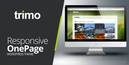 Trimo One Page WordPress Theme